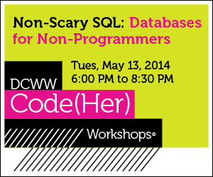 May CodeHer Workshop logo