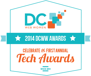 DCWW Tech Awards logo